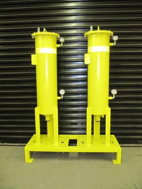 2 x Bag Filter Vessel Combo