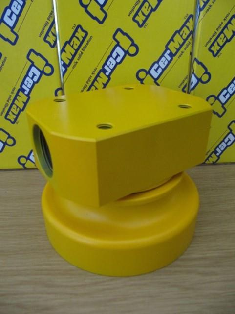 "XXXLW - Water Filter with Yellow 1"" Head"