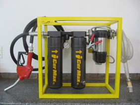 iDieselMax™ - XL Combo Portable Diesel Transfer Skid (12V or 220V)